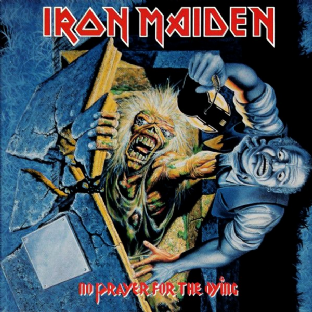Iron Maiden - No Prayer For The Dying (LP) (180g Vinyl) (M/M) (Sealed)